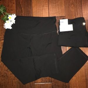 High Rise Active Compression Crop Pants Old Navy